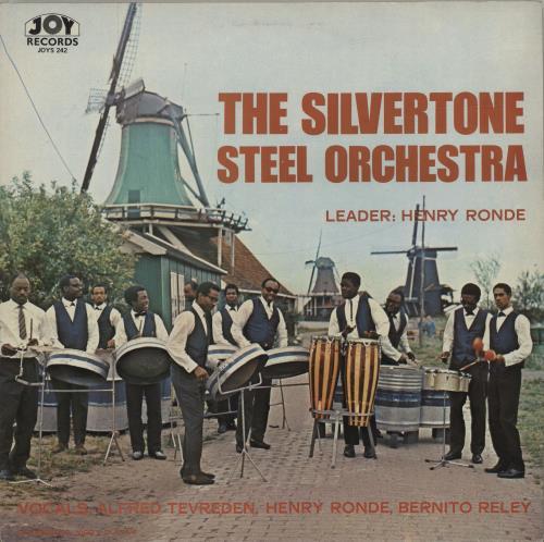 The Silvertone Steel Orchestra The Silvertone Steel Orchestra vinyl LP album (LP record) UK YM7LPTH686757
