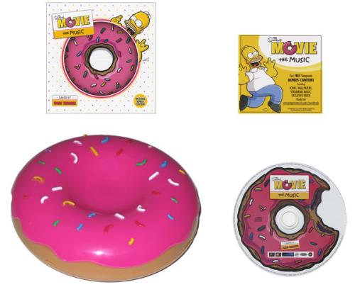The Simpsons The Simpsons Movie Soundtrack Us Cd Album Cdlp 428033