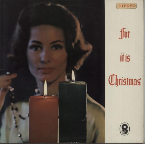 The Sinfonia Of London For It Is Christmas vinyl LP album (LP record) UK V76LPFO670103