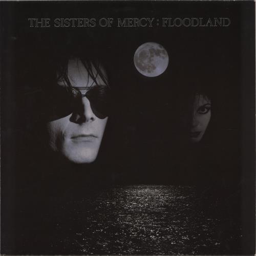 The Sisters Of Mercy Floodland - Complete - EX vinyl LP album (LP record) UK SOMLPFL310026