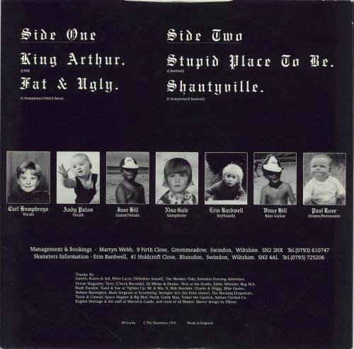 "The Skanxters Knights On The Run 12"" vinyl single (12 inch record / Maxi-single) UK 3HM12KN767687"