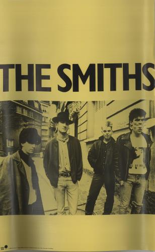 The Smiths American Tour Poster - Blank poster US SMIPOAM667867