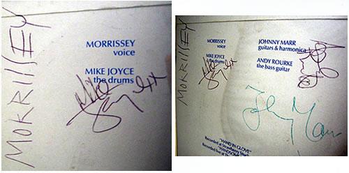 The Smiths Hand In Glove Fully Signed Amp Framed Uk Memorabilia 364644