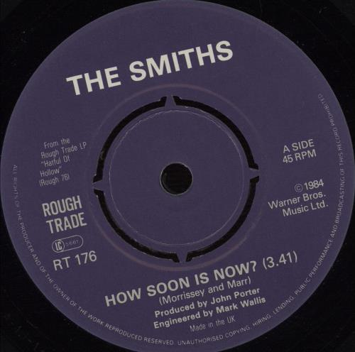 "The Smiths How Soon Is Now? - 4 Prong 7"" vinyl single (7 inch record) UK SMI07HO670201"