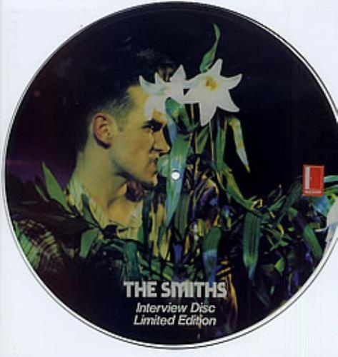 The Smiths Interview Disc - numbered picture disc LP (vinyl picture disc album) UK SMIPDIN165116