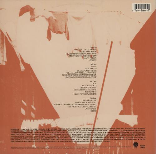 The Smiths Louder Than Bombs - VG 2-LP vinyl record set (Double Album) US SMI2LLO755566
