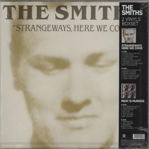The Smiths Meat Is Murder / Strangeways Here We Come - Sealed 2-LP vinyl record set (Double Album) French SMI2LME752047