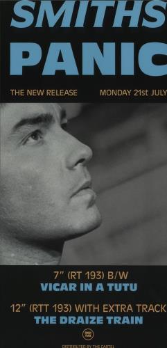 The Smiths Panic poster UK SMIPOPA436911