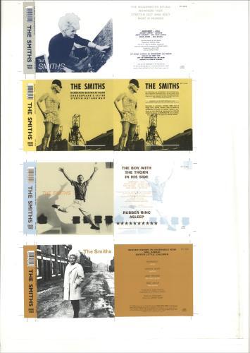 The Smiths Proof artwork for CD singles artwork UK SMIARPR672165