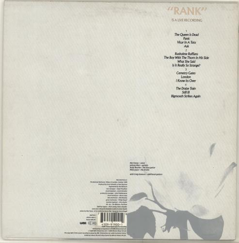 "The Smiths Rank - 2 x 10"" + Numbered Sleeve - EX 10"" vinyl single (10"" record) UK SMI10RA704990"