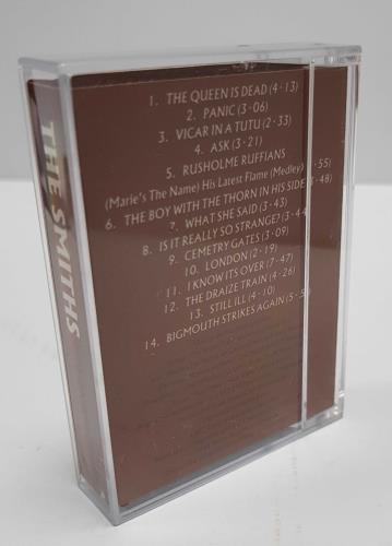 The Smiths Rank Withdrawn DAT album digital audio tape DAT UK SMIDARA300630