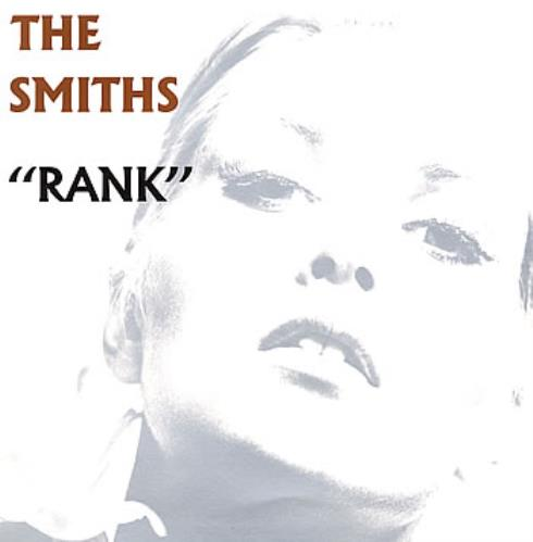 The Smiths Rank vinyl LP album (LP record) UK SMILPRA74965