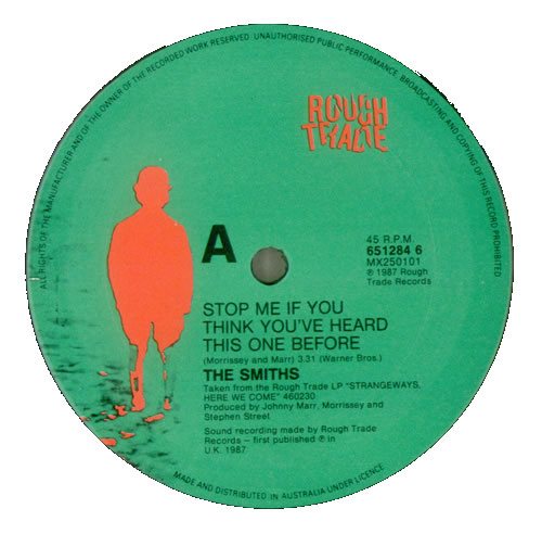 The Smiths Stop Me If You Think You Ve Heard This One