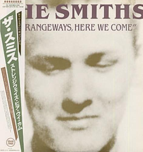 The Smiths Strangeways, Here We Come vinyl LP album (LP record) Japanese SMILPST140099