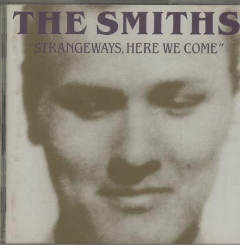 The Smiths Strangeways, Here We Come CD album (CDLP) Japanese SMICDST671138