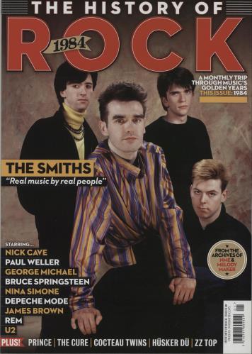 The Smiths The History Of Rock: 1984 magazine UK SMIMATH668465