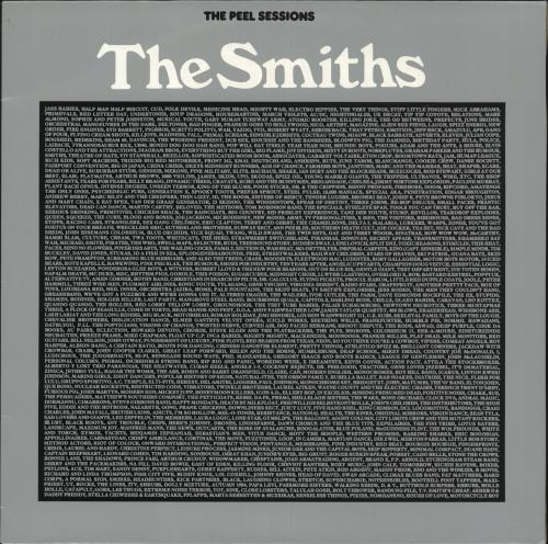 The Smiths The Peel Sessions Uk 12 Quot Vinyl Single 12 Inch