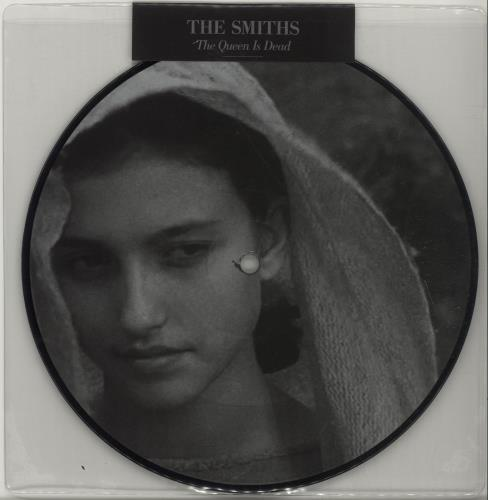 """The Smiths The Queen Is Dead - Sealed 7"""" vinyl picture disc 7 inch picture disc single UK SMI7PTH675445"""