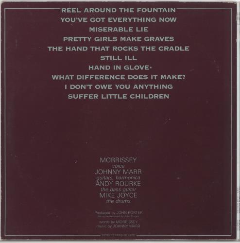 The Smiths The Smiths - 1st - EX vinyl LP album (LP record) UK SMILPTH639572
