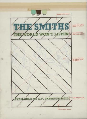 The Smiths The World Won't Listen - Artwork artwork UK SMIARTH669151