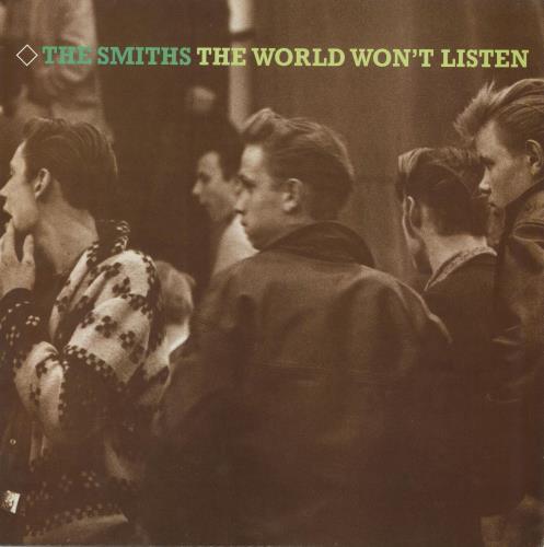 The Smiths The World Won't Listen - EX vinyl LP album (LP record) UK SMILPTH675341