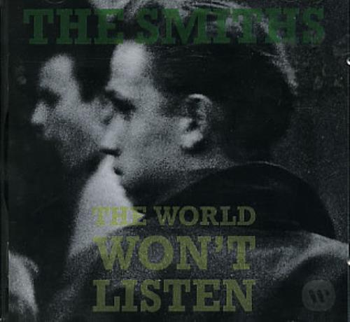 The Smiths The World Won't Listen CD album (CDLP) German SMICDTH254448