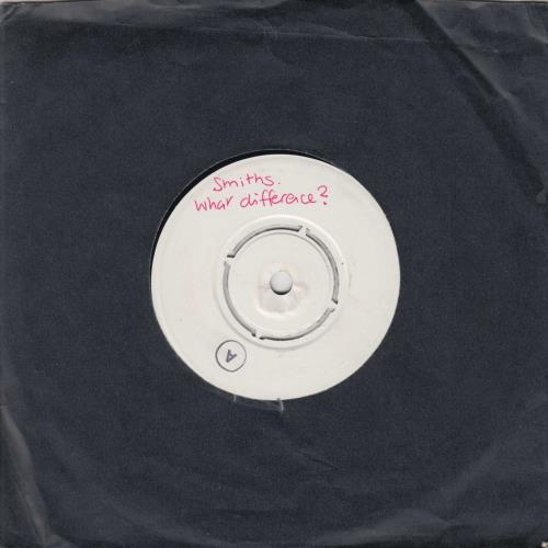 "The Smiths What Difference Does It Make? - Test Pressing 7"" vinyl single (7 inch record) UK SMI07WH617740"