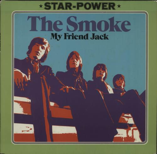 The Smoke My Friend Jack vinyl LP album (LP record) German TMSLPMY328697