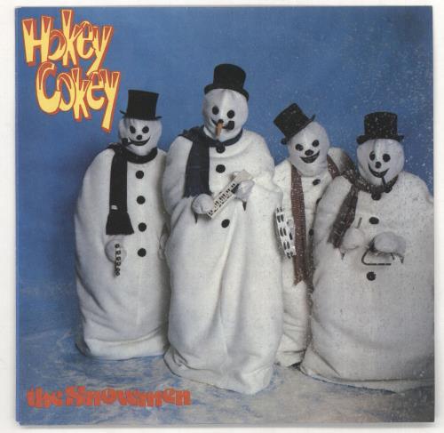 """The Snowmen Hokey Cokey 7"""" vinyl single (7 inch record) UK 0K207HO732134"""
