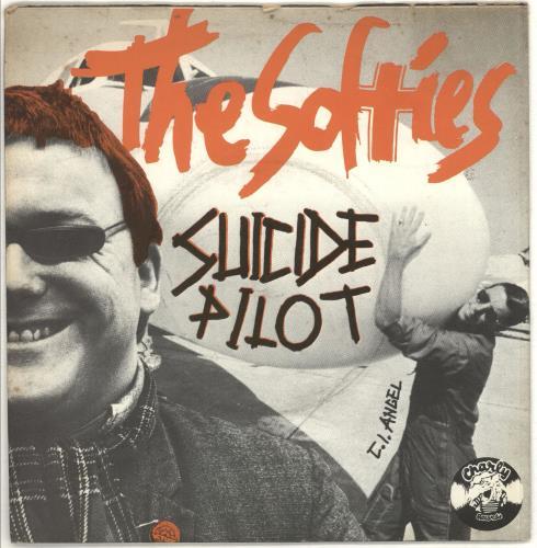 """The Softies Suicide Pilot 7"""" vinyl single (7 inch record) UK Y3O07SU706756"""