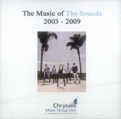 The Sounds The Music Of The Sounds 2003-2009 CD-R acetate US ND2CRTH543628