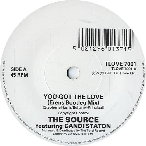 "The Source You Got The Love + Press Release 7"" vinyl single (7 inch record) UK S1007YO614728"