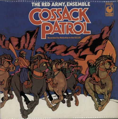The Soviet Army Ensemble Cossack Patrol vinyl LP album (LP record) UK VNJLPCO595880