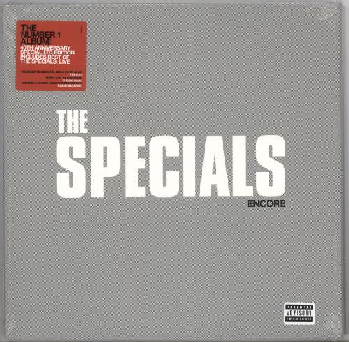 The Specials Encore - Red Vinyl - Sealed 2-LP vinyl record set (Double Album) UK SPE2LEN725993