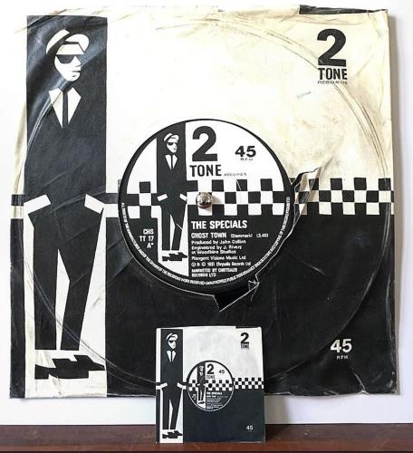 The Specials Ghost Town - SuperSizeArt Numbered Print artwork UK SPEARGH731102