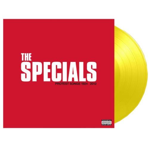 The Specials Protest Songs 1924-2012 - Yellow Vinyl Bespoke Touring Edition - Sealed vinyl LP album (LP record) UK SPELPPR776405