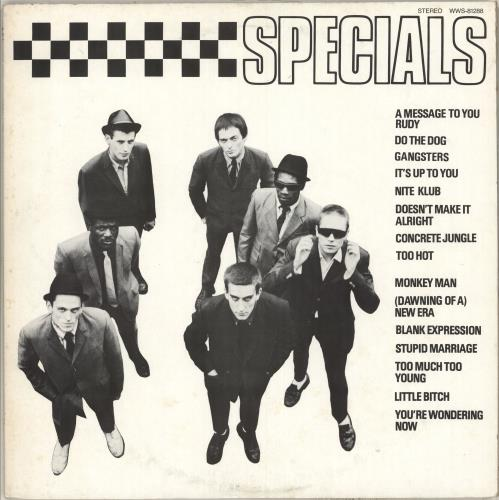 The Specials The Specials vinyl LP album (LP record) Japanese SPELPTH713219