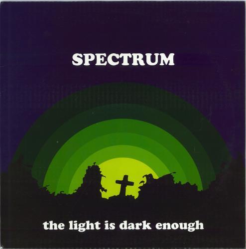 The Spectrum (60s) The Light Is Dark Enough vinyl LP album (LP record) UK SP+LPTH770439