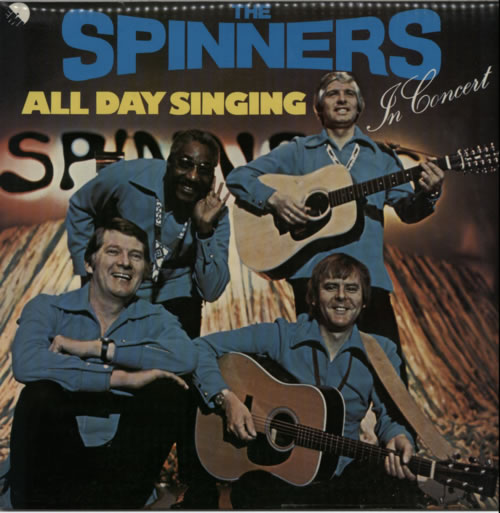 The Spinners All Day Singing Uk Vinyl Lp Album Lp Record