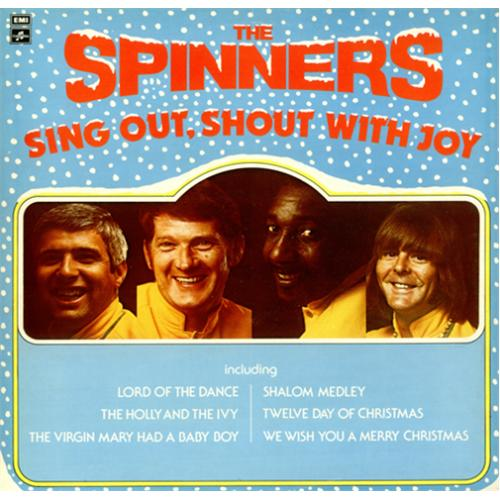 The Spinners Sing Out, Shout With Joy vinyl LP album (LP record) UK SPNLPSI421244