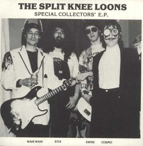 """The Split Knee Loons Special Collectors' EP - Brown Vinyl 7"""" vinyl single (7 inch record) UK TQ407TH365875"""