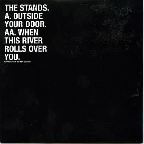 "The Stands Outside Your Door/When This River Rolls Over You CD single (CD5 / 5"") UK T\DC5OU282972"
