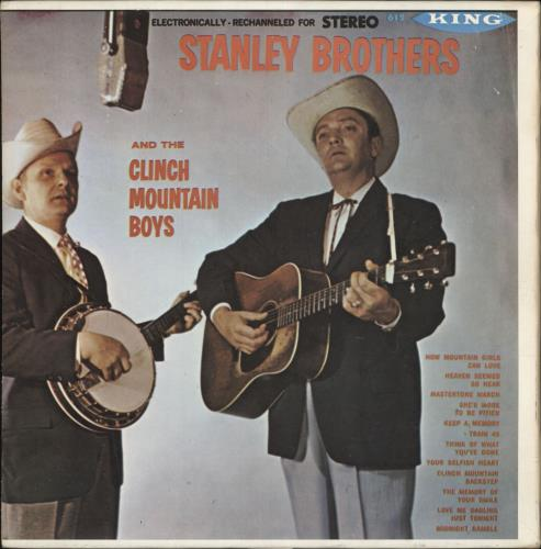 The Stanley Brothers Stanley Brothers And The Clinch Mountain Boys vinyl LP album (LP record) US T79LPST744628
