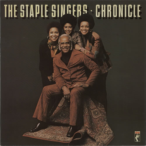 The Staple Singers Chronicle Dutch vinyl LP album (LP record