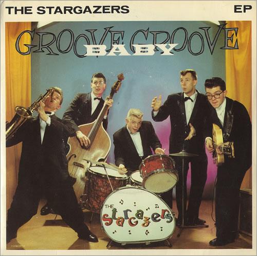 "The Stargazers (80s) Groove Baby Groove EP 7"" vinyl single (7 inch record) UK GAZ07GR88998"