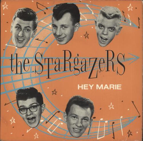 "The Stargazers (80s) Hey Marie 7"" vinyl single (7 inch record) UK GAZ07HE129653"