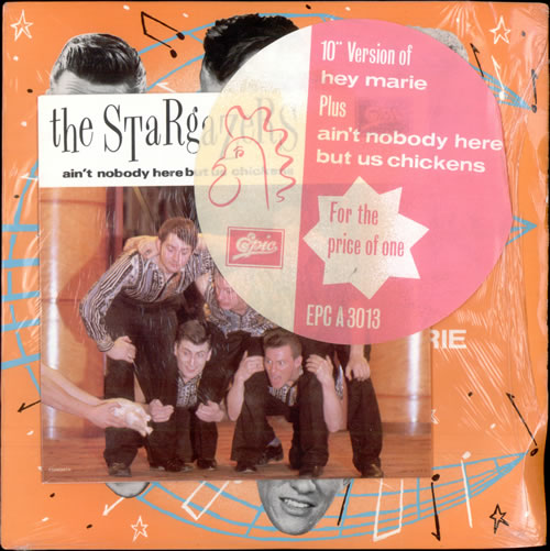 "The Stargazers (80s) Hey Marie 10"" vinyl single (10"" record) UK GAZ10HE503500"
