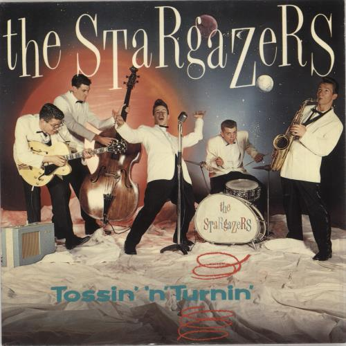 "The Stargazers (80s) Tossin 'n' Turnin' 7"" vinyl single (7 inch record) UK GAZ07TO737074"