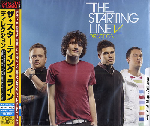 The Starting Line Direction - Sealed CD album (CDLP) Japanese LIECDDI484009