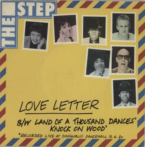 The Step Love Letter 7 Vinyl Single Inch Record UK T